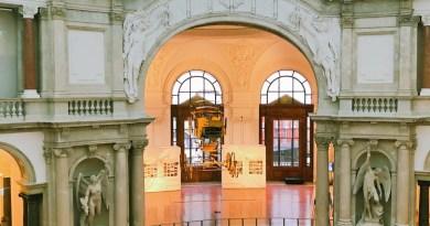 Schönes Gebäude: das Kommunikationsmuseum in Berlin