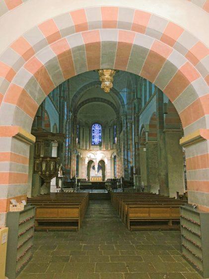 In der Abteikirche in Brauweiler
