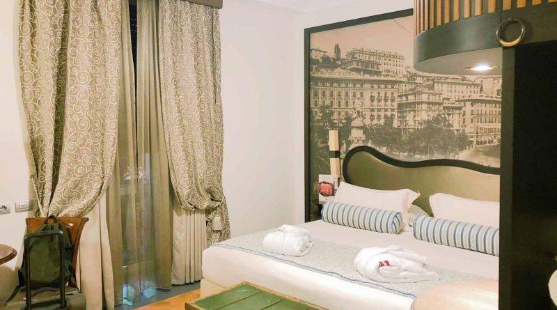 Hotelzimmer im Grand Hotel Savoia in Genua