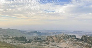Landschaft in Jordanien