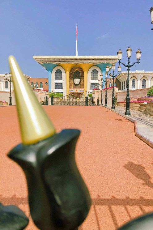 Der Sultanspalast in Muscat