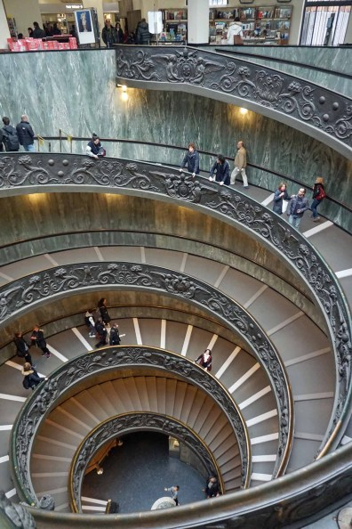 In den Vatikanischen Museen in Rom