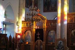 In der griechisch-orthodoxen Kirche in Heraklion