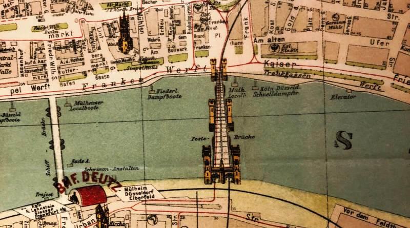 Stadtplan von Köln: Hier fährt die Tram