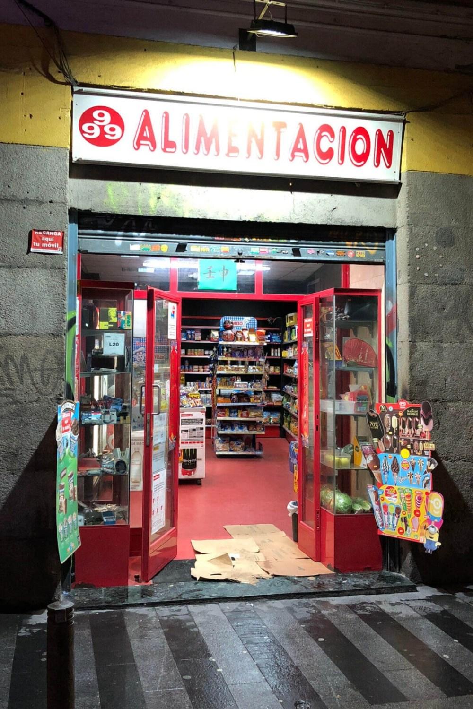 Lebensmittelladen in Madrid