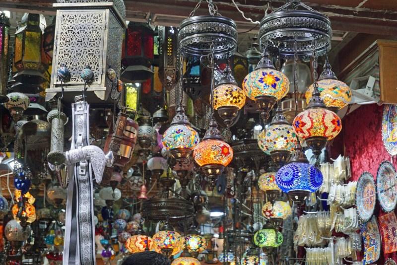 Auf dem Markt bei Muscat