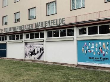 Notaufnahmelager Marienfelde in Berlin