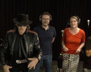 Foto aus dem Karaoke-Video