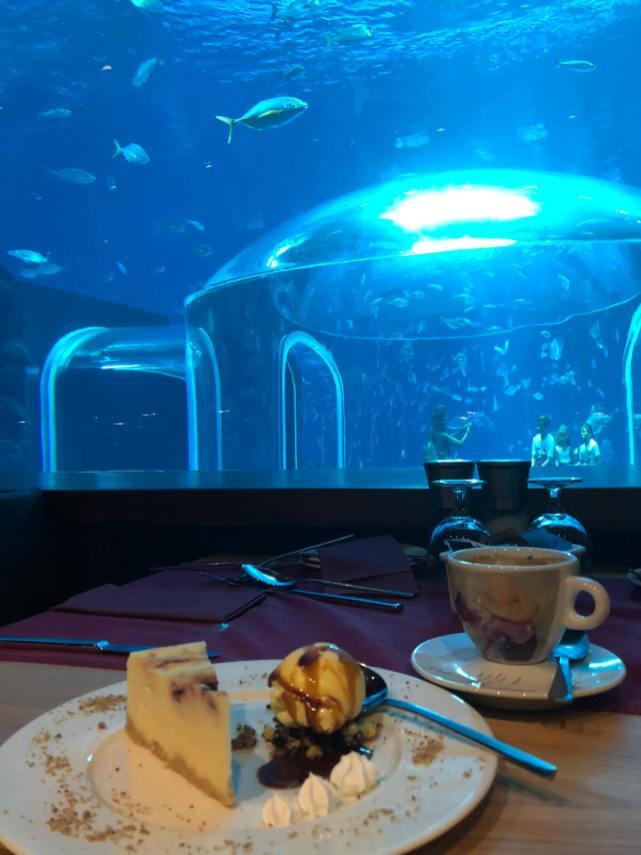 Café im Poema del Mar