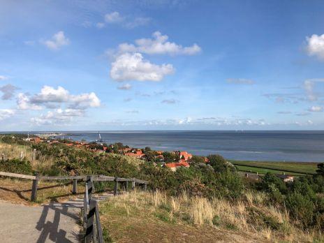 Blick vom Leuchtturm auf Vlieland