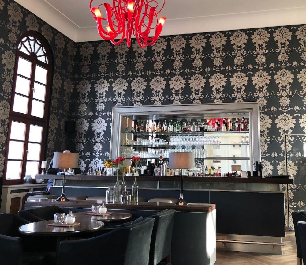 Eines der stylischen Cafés auf Norderney
