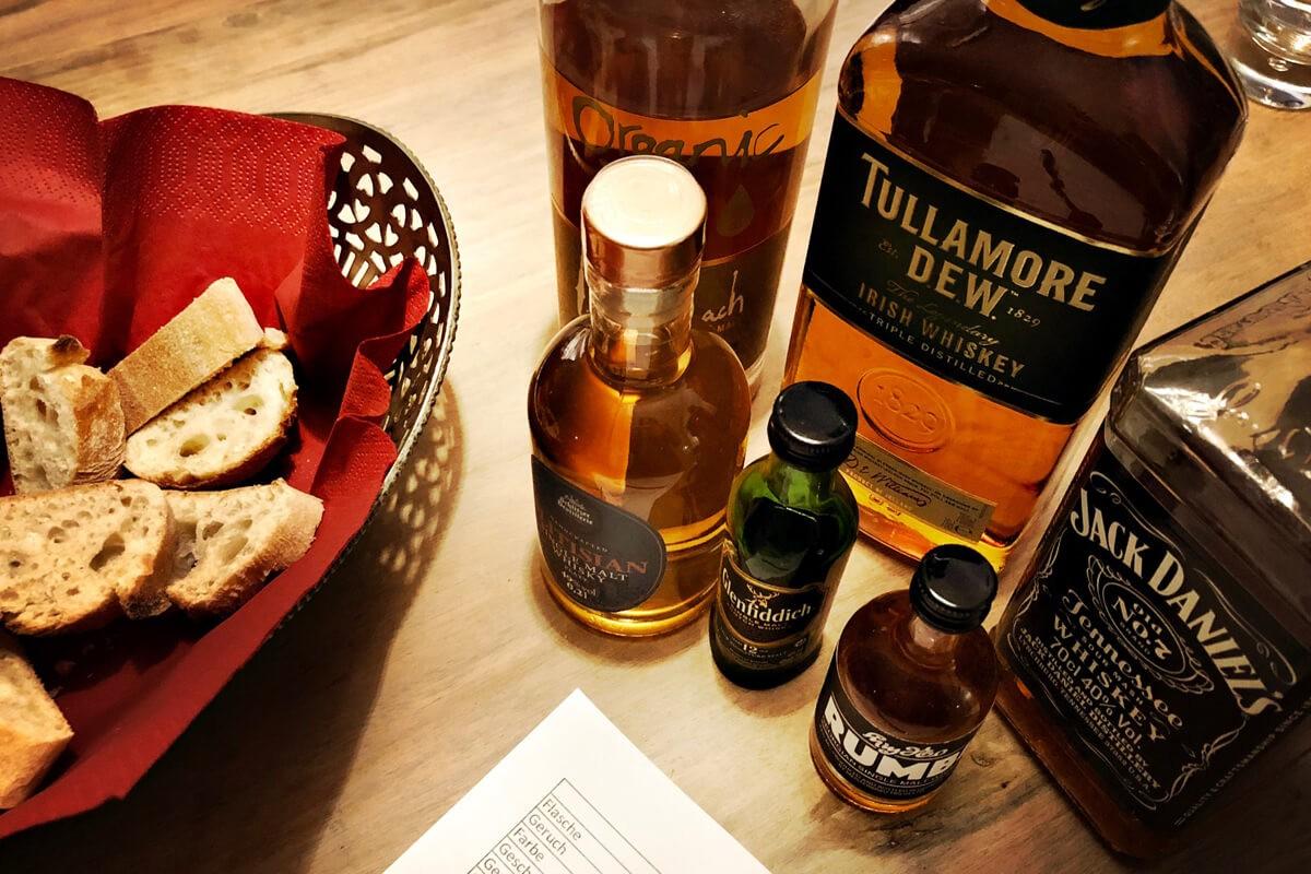 Whisky-Verkostung: Lieber irisch, schottisch, us-amerikanisch – oder georgisch und deutsch?