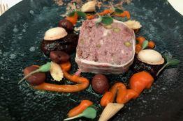 Leberpastete im italienischen Restaurant in Düsseldorf