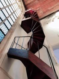 Treppe in der Oude Kerk