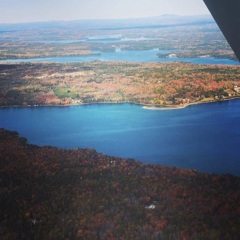 Rundflug über Acadia National Park