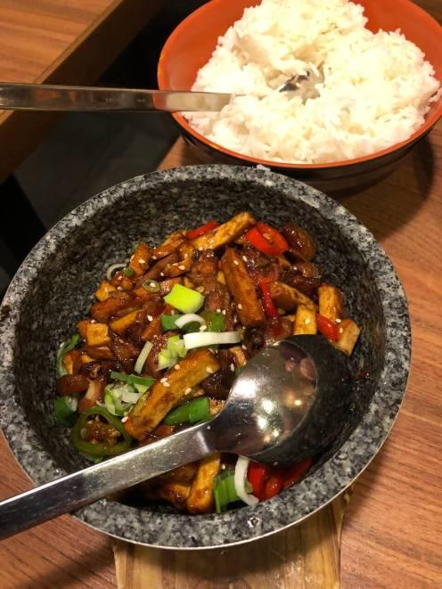 Chinesisches Essen im Great Wall in Köln