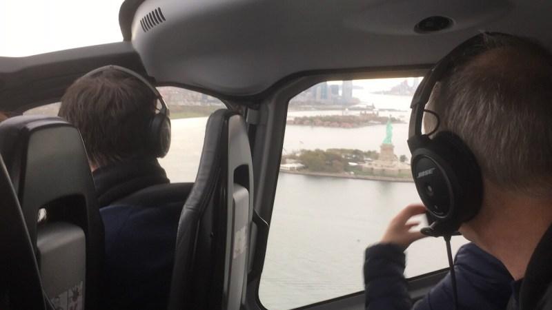 Hubschrauberrundflug in New York: Freiheitsstatue