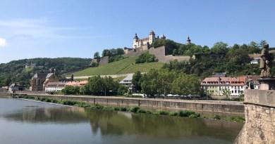 Blick auf die Festung Marienstift