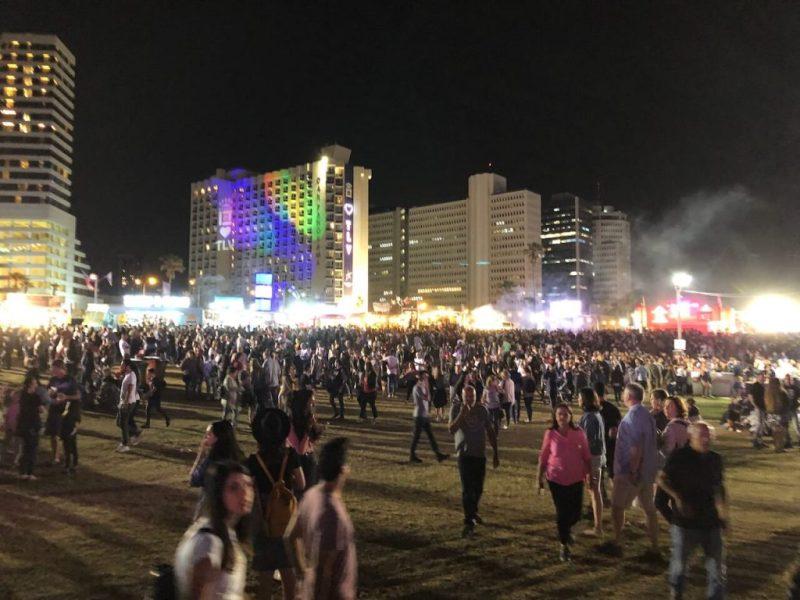 Festival am Strand in Tel Aviv