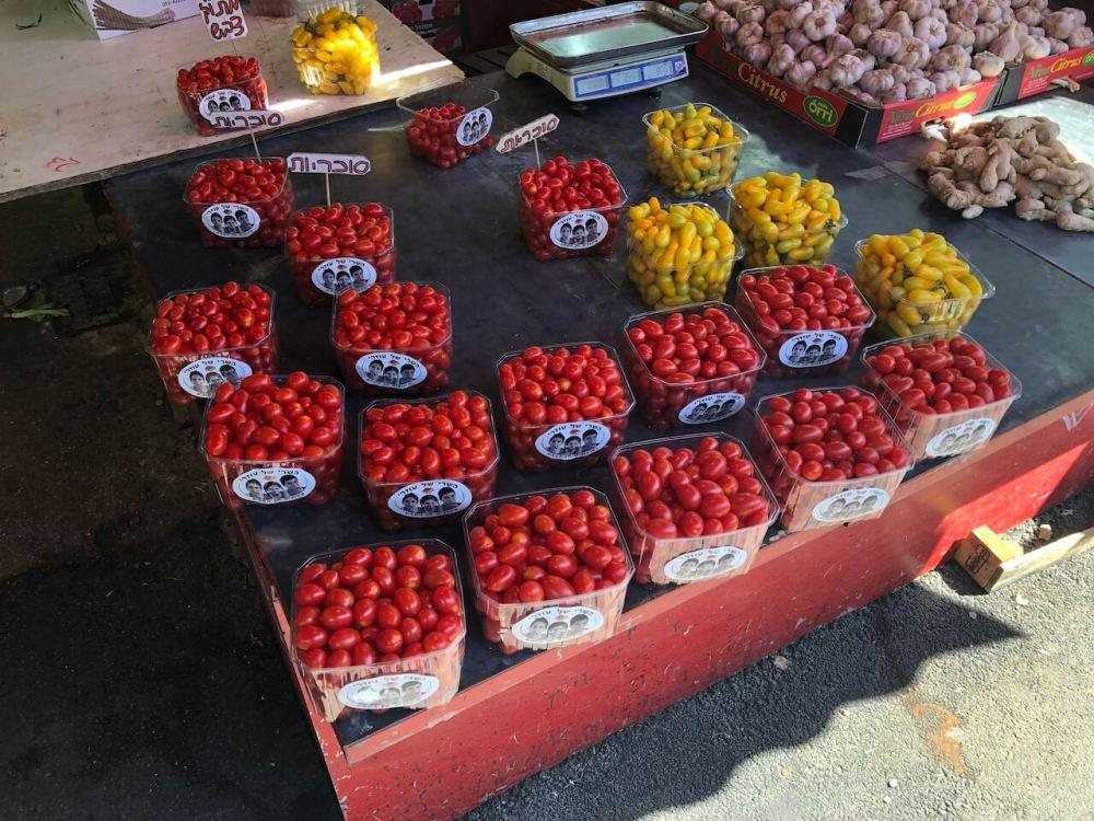 Carnell Markt in Tel Aviv