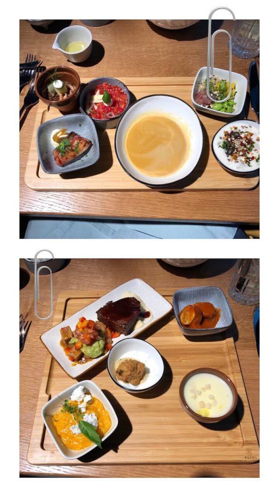 Tapas-Essen im Restaurant Oktupussy