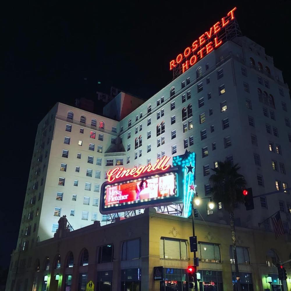 Roosevelt Hotel in Los Angeles