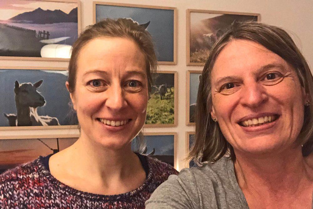 Katharina Afflerbach und ich