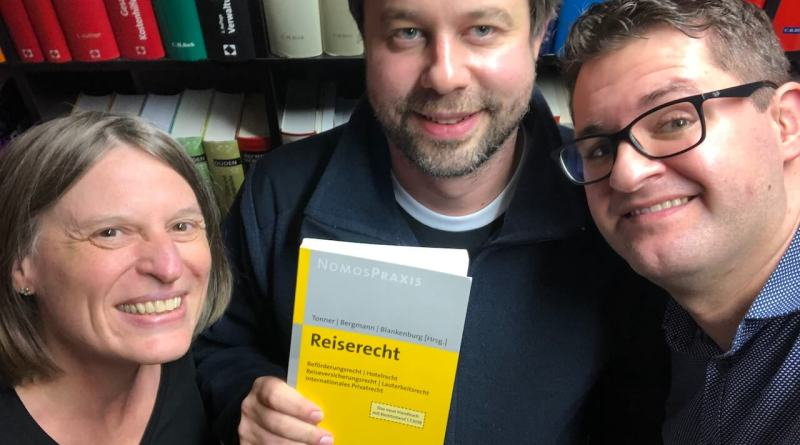 Timo, Torben und ich nach unserer Podcastsession
