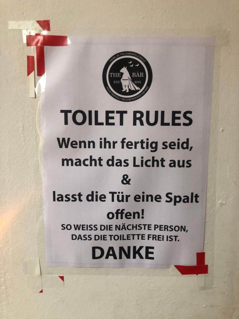 Neue Regeln