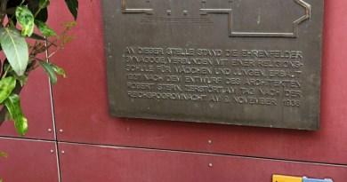 Gedenktafel für die Synagoge