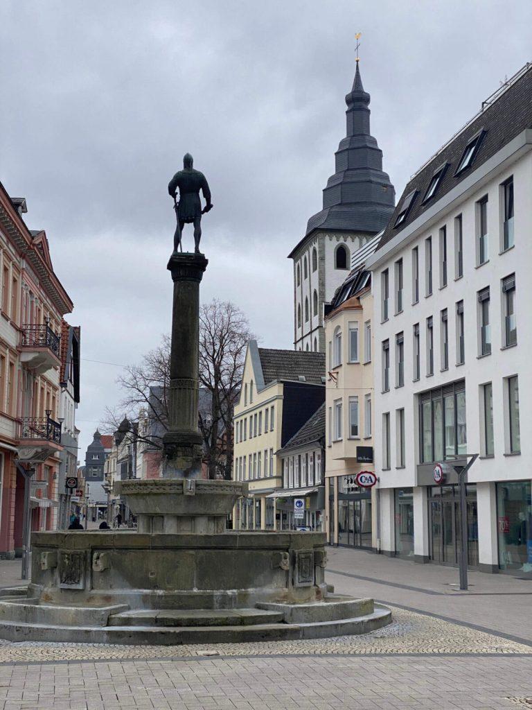 NRW: In Lippstadt durchs Grüne und durchs Zentrum