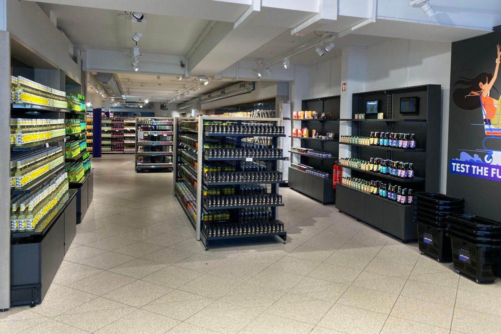 Köln: Einkaufen im Marktforschungssupermarkt Go2Market in Braunsfeld