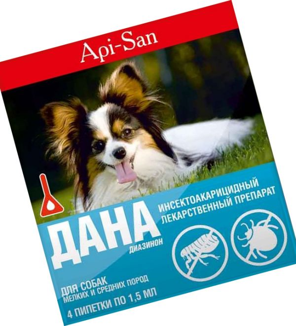 Дана препарат от клещей для собак. Рассмотрим капли от блох дана для кошек и собак