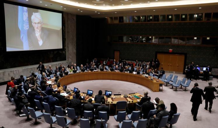 """مجلس الأمن يدين """"كل الأطراف"""" بالغوطة ودمشق"""