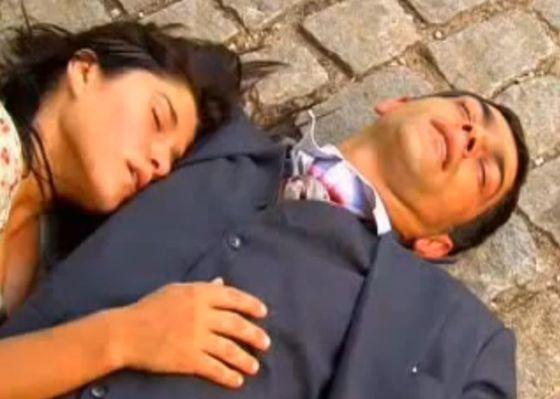 Protagonistas de Alma Gêmea morrem no último capítulo. Foto: Reprodução/TV Globo