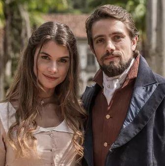 Rafael Cardoso e Alinne Moraes. Foto: Fábio Rocha/Gshow