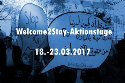 Welcome2Stay - Aktionstage 2017