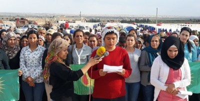 women rise up for Afrin