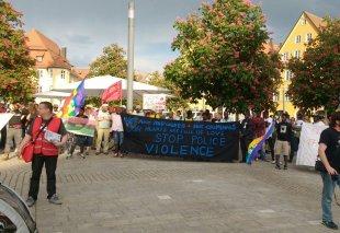 Ellwangen Stop police violence