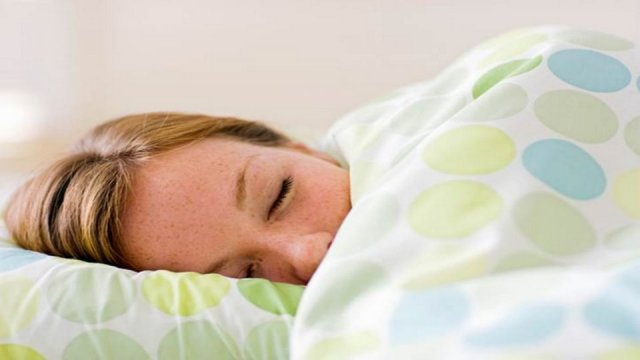 Sleeping Under Blanket with Air Conditioning(1)