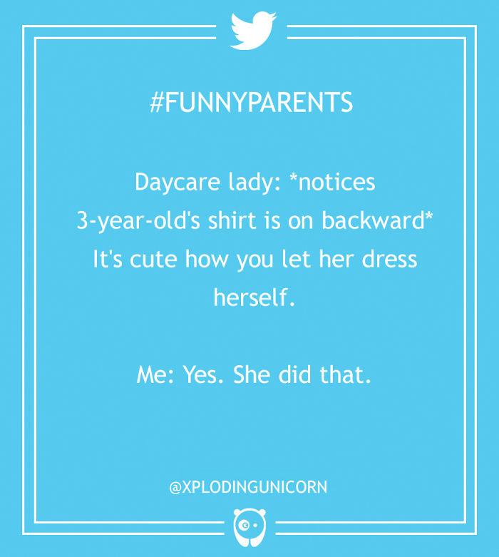 Funny Parenting Tweets