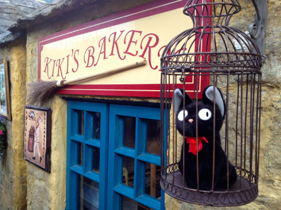 Not to mention the bakery from the famed Kiki's Delivery Service.