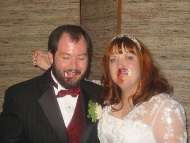 What would a wedding be without a bloody fist fight?