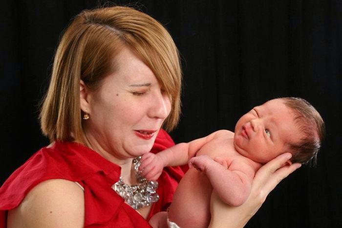 Baby Photoshoot Gone Wrong