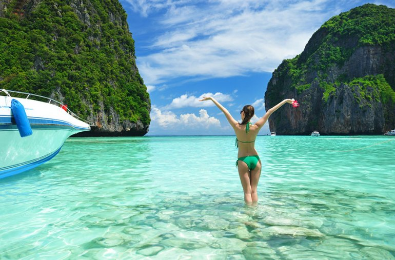 Enjoying Your Private Moments On The Beaches Of Thailand
