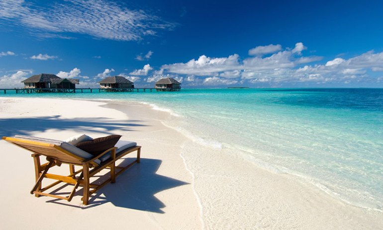 Relaxing On The Gorgeous Beaches Of Maldives