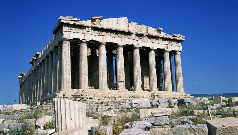 Visiting The Acropolis Of Athens, Greece