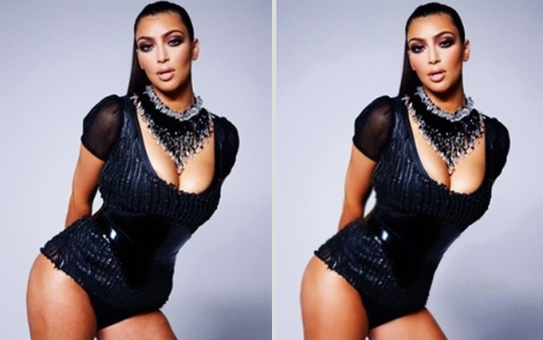 We've already accepted that Kim Kardashian isn't perfect, and yes, we still prefer her just as she is.