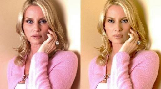 Nicollette Sheridan, known for her role as Edit Britt on Desperate Housewives, has a youthful spirit that surpasses the powers of Photoshop.