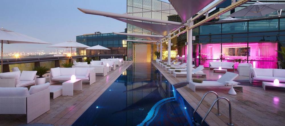 The Cu-ba is part of Jumeirah Creekside Hotel in Dubai, United Arab Emirates.